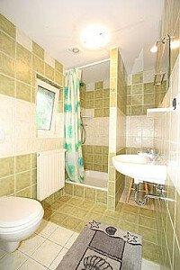 łazienka w apartamencie z tarasem