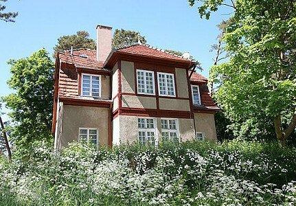 Widok domu od strony ul. Korczaka