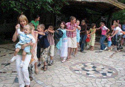 Krakus II - zabawa dla dzieci