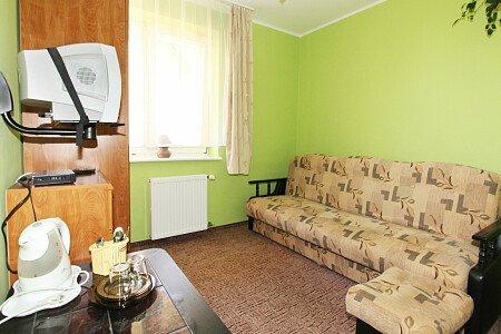 Pokój nr 4 Pokój dla 2 osób od strony wschodniej.