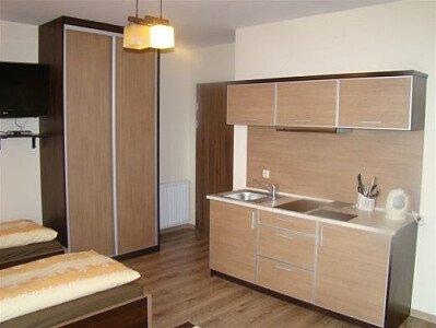 Pokój nr 6 - aneks kuchenny.