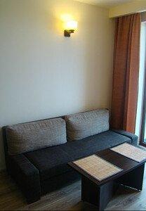 Wygodna rozkładana sofa