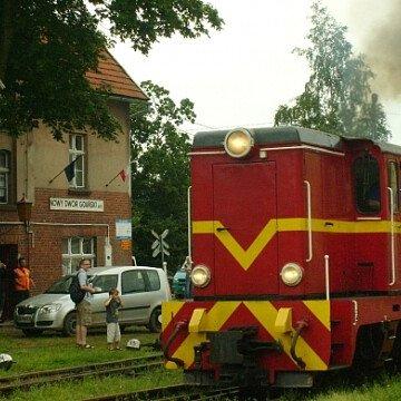 Żuławska Kolej Dojazdowa - przystanek SZTUTOWO