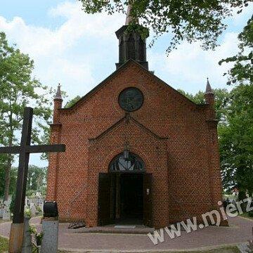 Neogotycki Kościół w Żuławkach