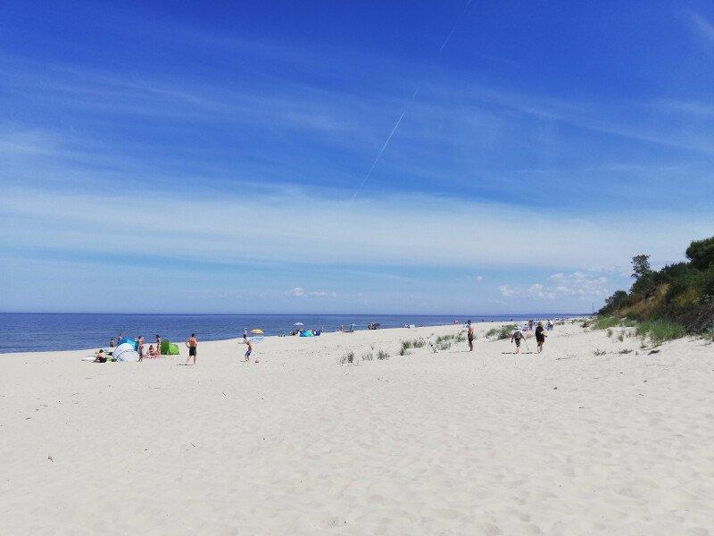 W Krynicy Morskiej lato nie odpuszcza