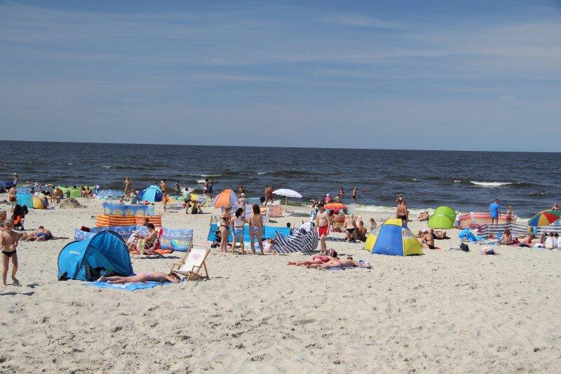 Spędź gorące dni w wodach Bałtyku